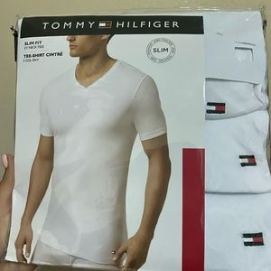 Tommy Hilfiger White tees